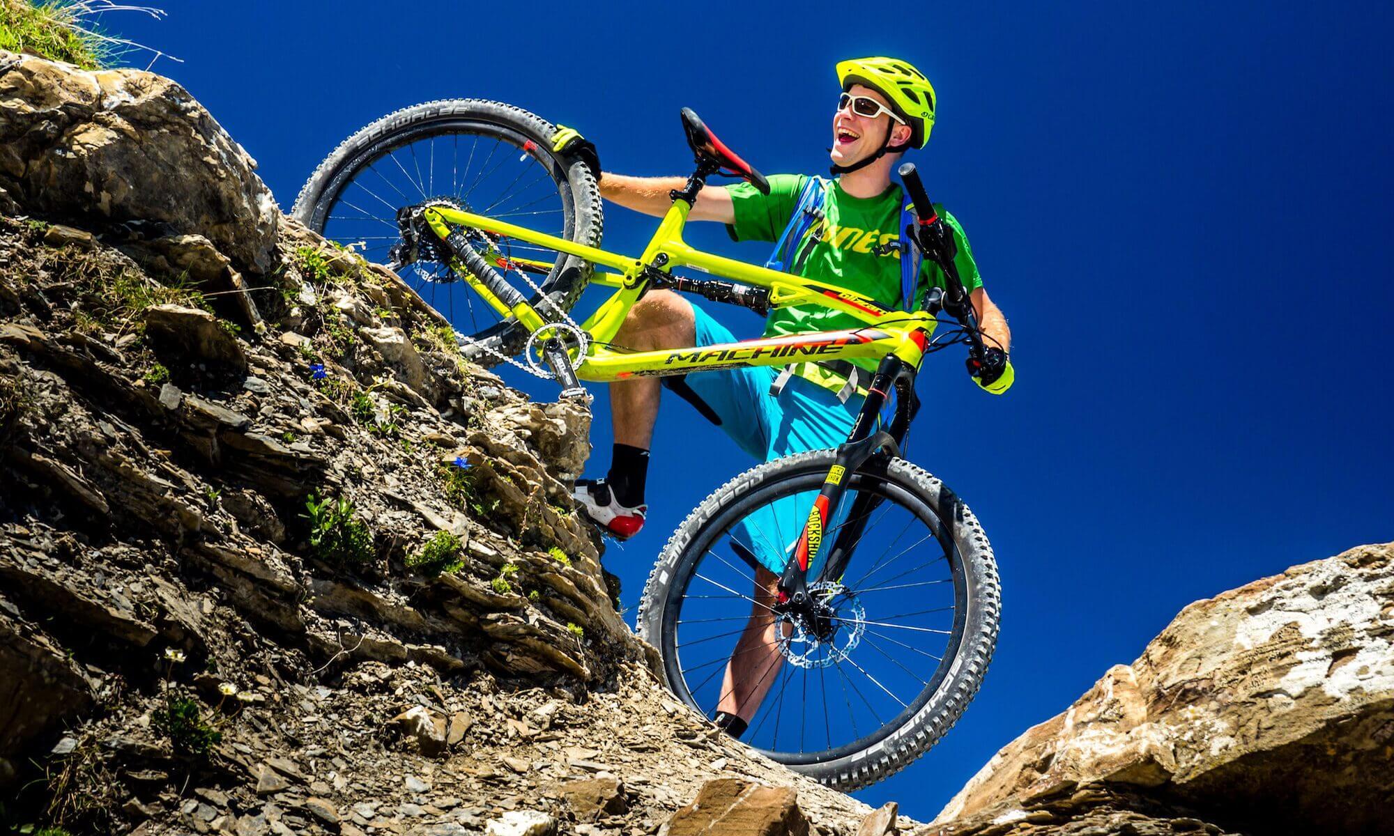 Cykloservis Hostinné - Biker na horách